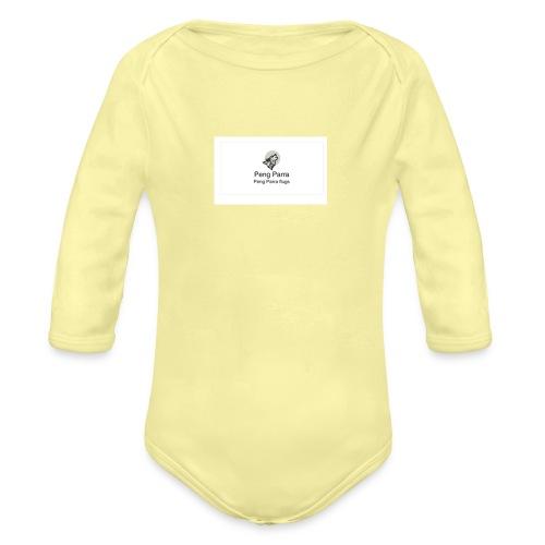 peng_parra - Langærmet babybody, økologisk bomuld