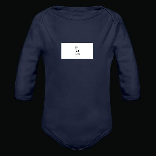 bafti hoodie - Langærmet babybody, økologisk bomuld