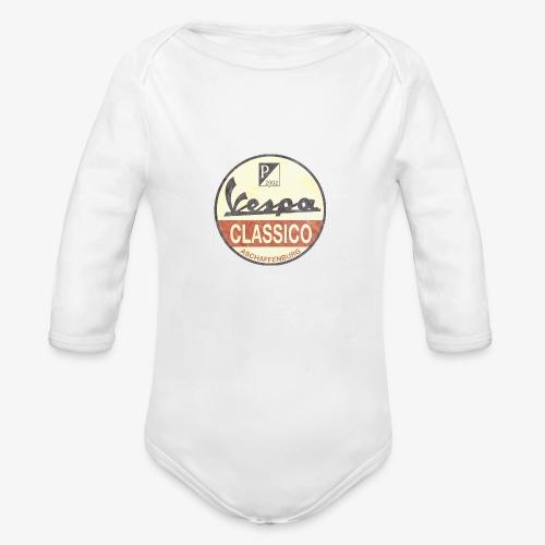 Vintage Logo - Baby Bio-Langarm-Body