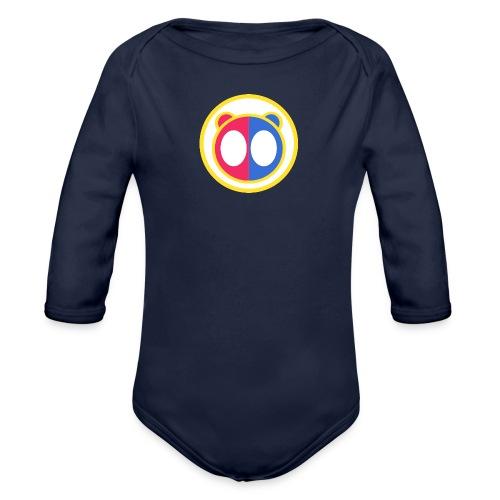 Main App Logo - Organic Longsleeve Baby Bodysuit