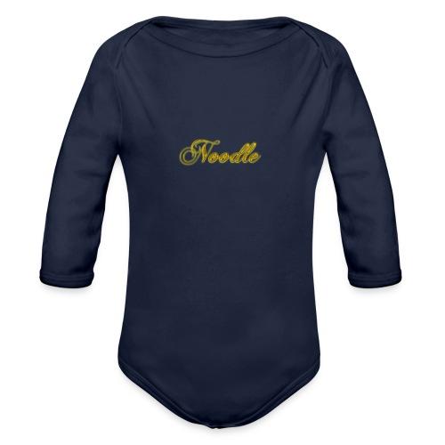 Noodlemerch - Organic Longsleeve Baby Bodysuit