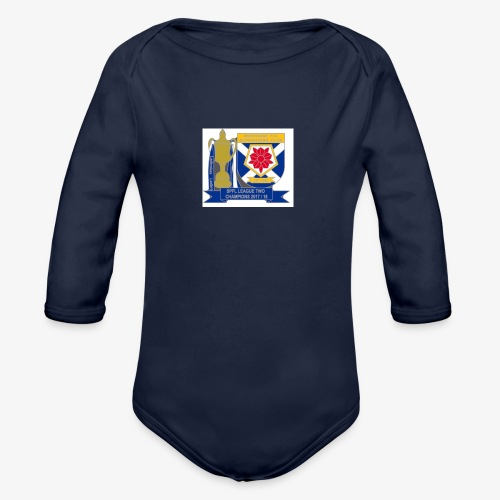 MFCSC Champions Artwork - Organic Longsleeve Baby Bodysuit