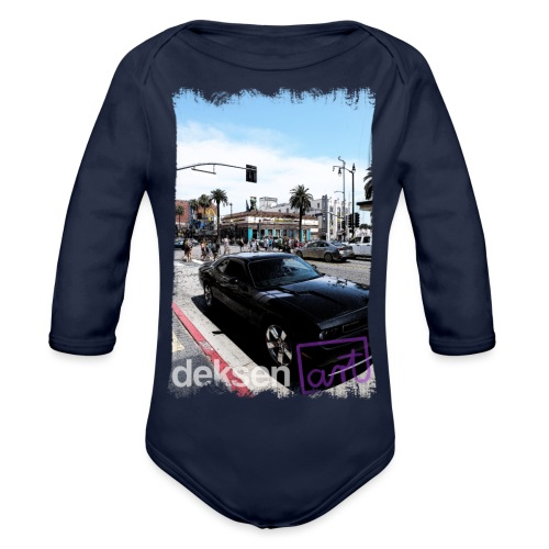 Los Angeles Part 3 - Organic Longsleeve Baby Bodysuit
