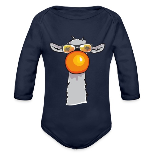 Chewing Llama - Baby Bio-Langarm-Body