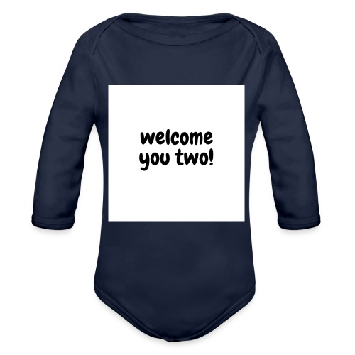 welcome you two - Baby Bio-Langarm-Body