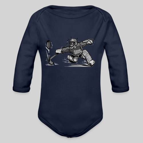 CoonDesign - Goalie II - Baby Bio-Langarm-Body