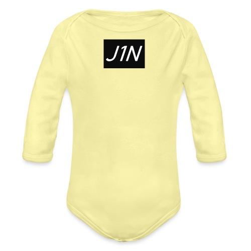 J1N - Organic Longsleeve Baby Bodysuit