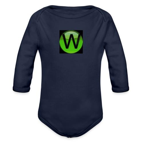 (ORIGINAL) W1ll logo 2 - Organic Longsleeve Baby Bodysuit