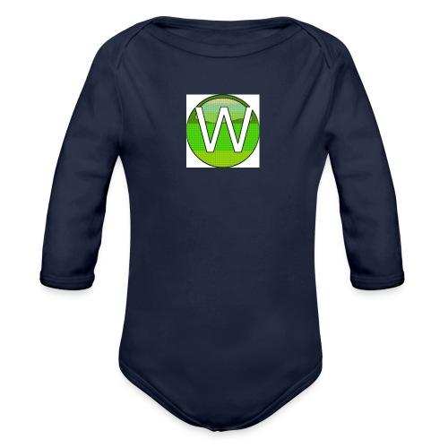 Alternate W1ll logo - Organic Longsleeve Baby Bodysuit