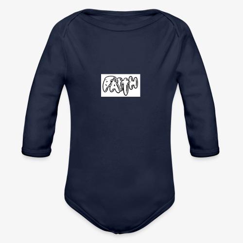 faith - Organic Longsleeve Baby Bodysuit