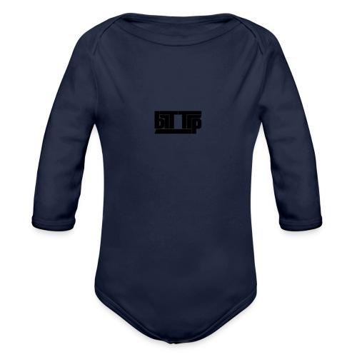 brttrpsmallblack - Organic Longsleeve Baby Bodysuit