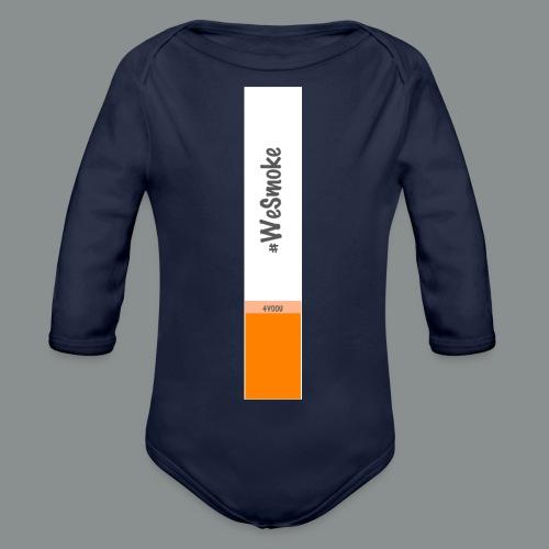 #WeSmoke - Body ecologico per neonato a manica lunga
