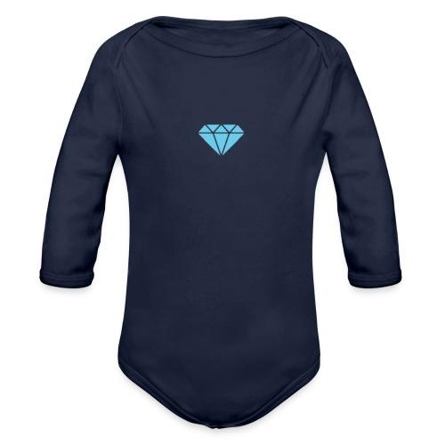 Diamond Shine - Ekologisk långärmad babybody