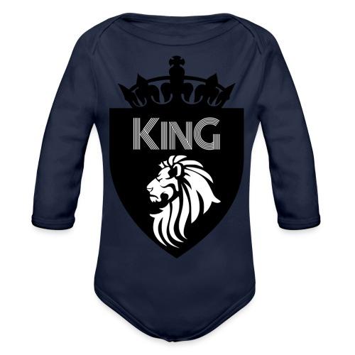 king - Body Bébé bio manches longues