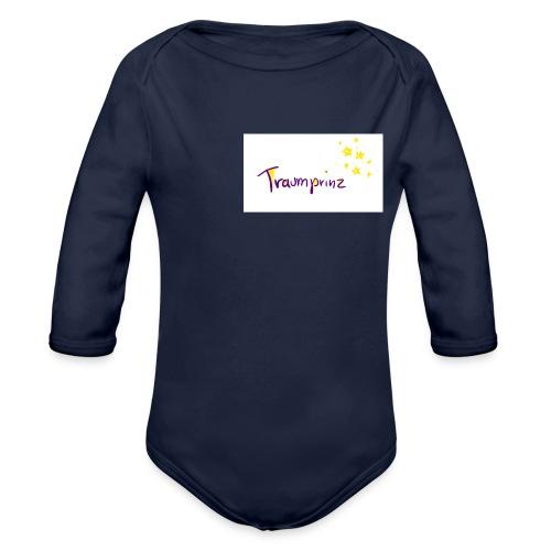 Traumprinz2 - Baby Bio-Langarm-Body