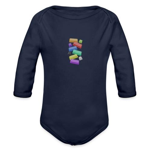 SA Mechanical Keyboard Keycaps Motif - Organic Longsleeve Baby Bodysuit