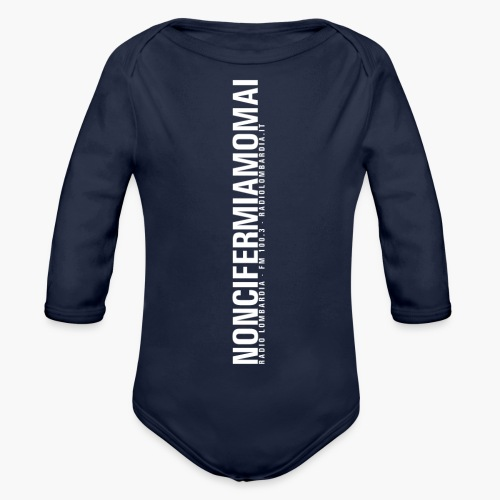 Uomo - Maglietta - noncifermiamomai - Body ecologico per neonato a manica lunga