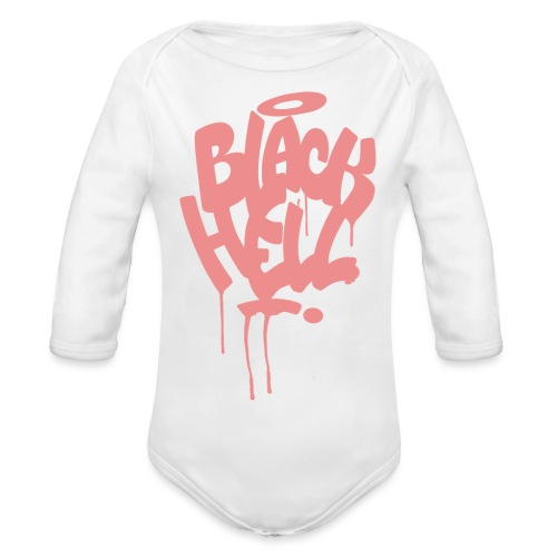 bombing rosa - Body ecologico per neonato a manica lunga