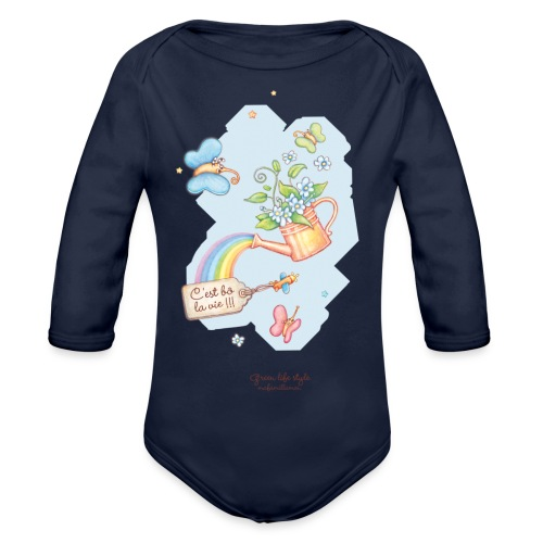 T-shirt bébé Mafamillamoi - Body bébé bio manches longues