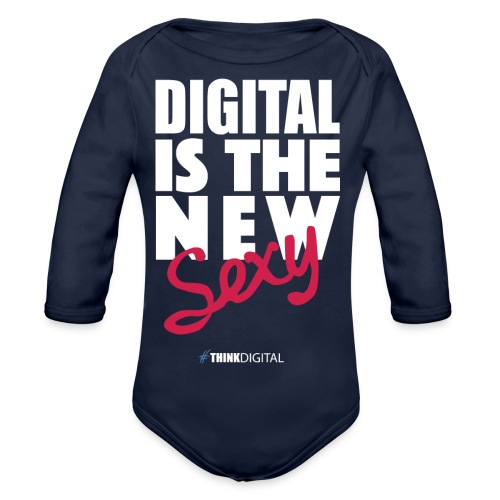 DIGITAL is the New Sexy - Body ecologico per neonato a manica lunga