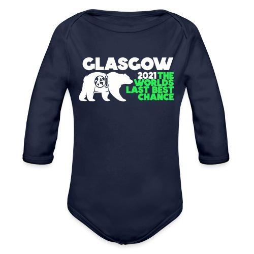 Last Best Chance - Glasgow 2021 - Organic Longsleeve Baby Bodysuit