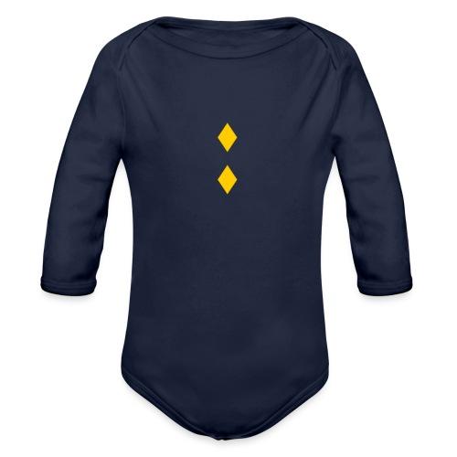 Upseerikokelas - Vauvan pitkähihainen luomu-body