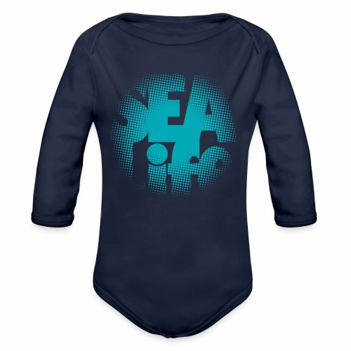 Sealife surfing tees, clothes and gifts FP24R01A - Vauvan pitkähihainen luomu-body