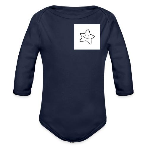 Stern - Baby Bio-Langarm-Body
