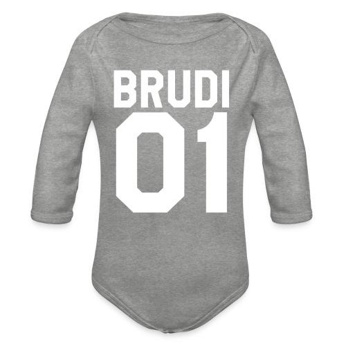 Brudi 01 Geschwister Beste Freunde Partnerlook - Baby Bio-Langarm-Body