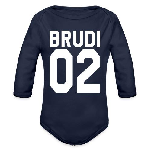 Brudi 02 Geschwister Beste Freunde Partnerlook - Baby Bio-Langarm-Body