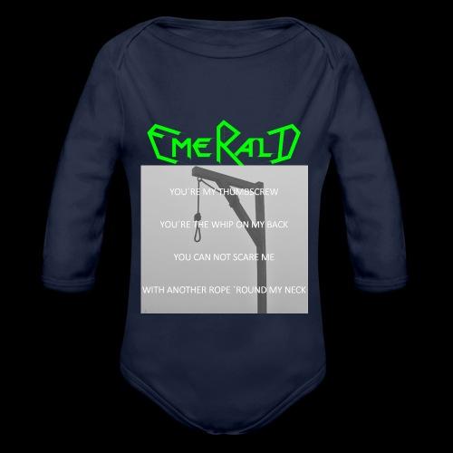 Emerald - Baby Bio-Langarm-Body
