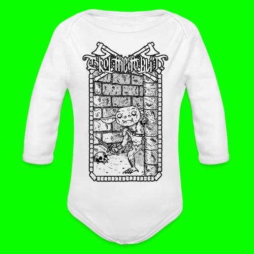 Return to the Dungeon - Organic Longsleeve Baby Bodysuit