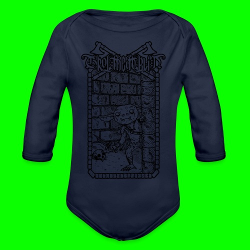Return to the Dungeon - Organic Longsleeve Baby Bodysuit