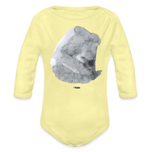 bigkoala shirt110 - Baby Bio-Langarm-Body