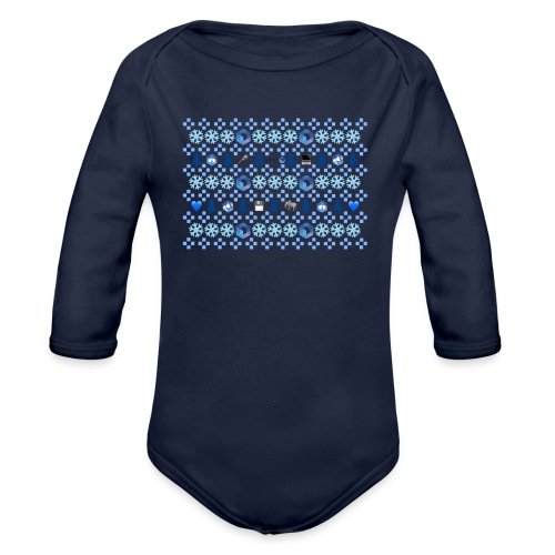 Collection hivernale Ugly Sweater version AFUP - Body Bébé bio manches longues