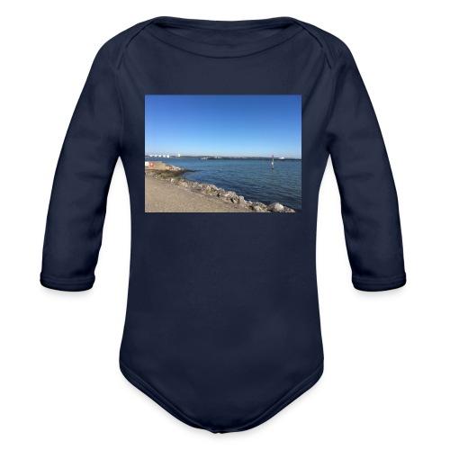 hythe Pier - Organic Longsleeve Baby Bodysuit