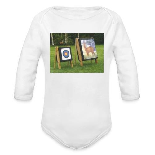 7EE4ABA5 03CC 4458 8D34 B019DF4DD5F1 - Økologisk langermet baby-body