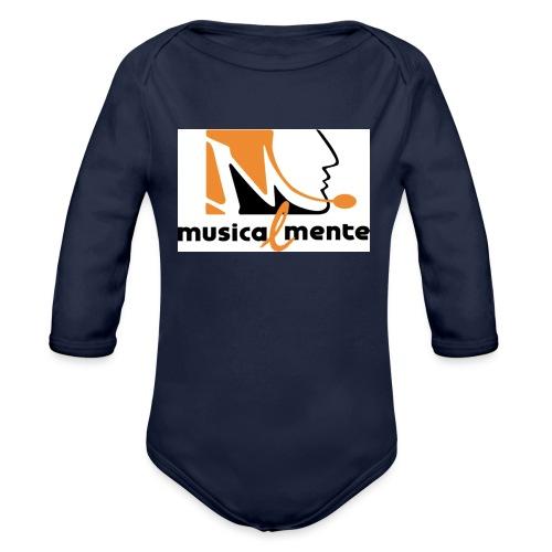 Musicalmente - Body ecologico per neonato a manica lunga
