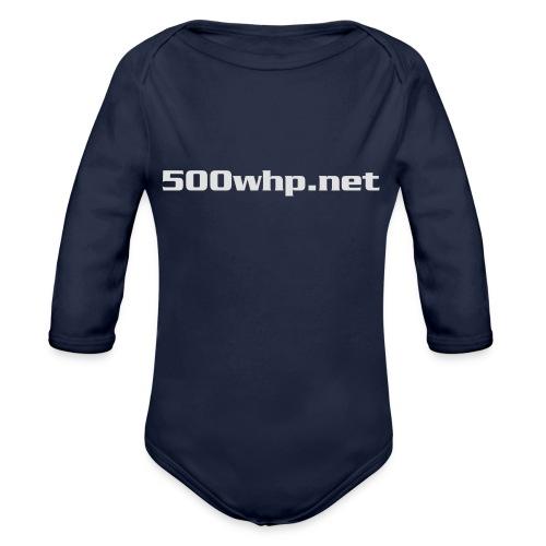 500whpcs1 - Vauvan pitkähihainen luomu-body