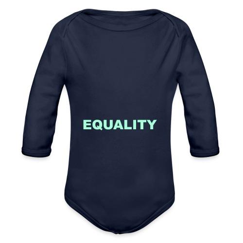 EQUALITY tote - Økologisk langermet baby-body