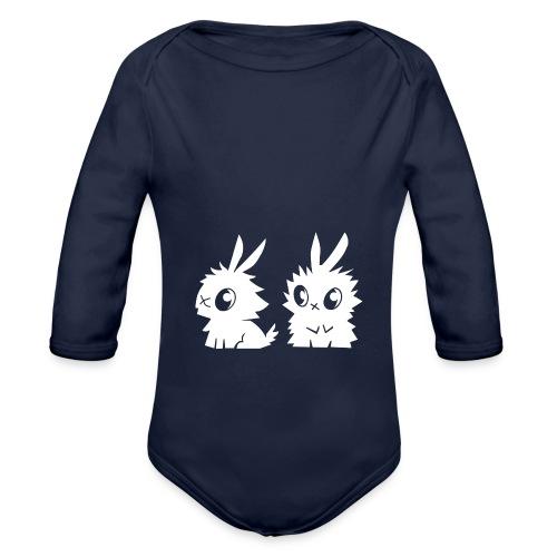 Les petits lapins - Body Bébé bio manches longues