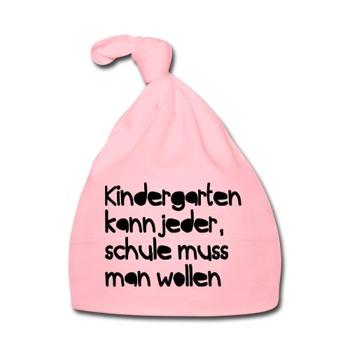 Kindergarten (Spruch) - Baby Mütze