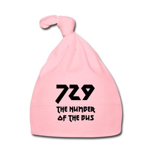 729 grande nero - Cappellino neonato