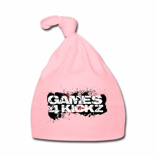 Games4Kickz Logo Splattered Background - Baby Cap