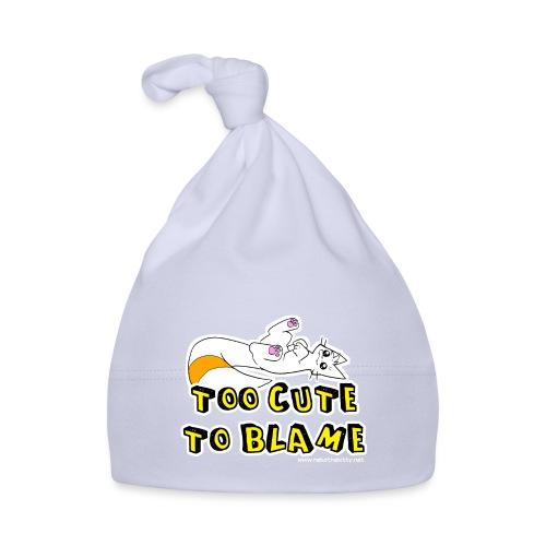 Too Cute To Blame - Baby Cap
