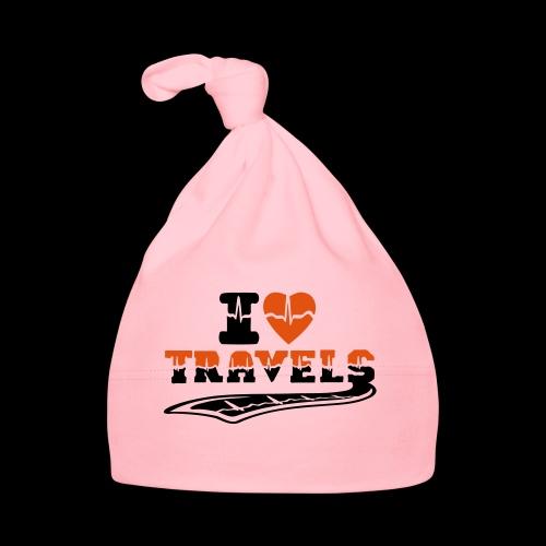 i love travels surprises 2 col - Baby Cap