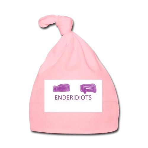 enderproductions enderidiots design - Baby Cap