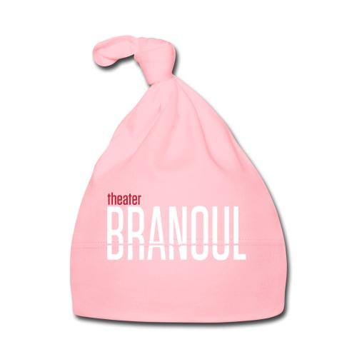 Branoul Logo rood wit - Muts voor baby's