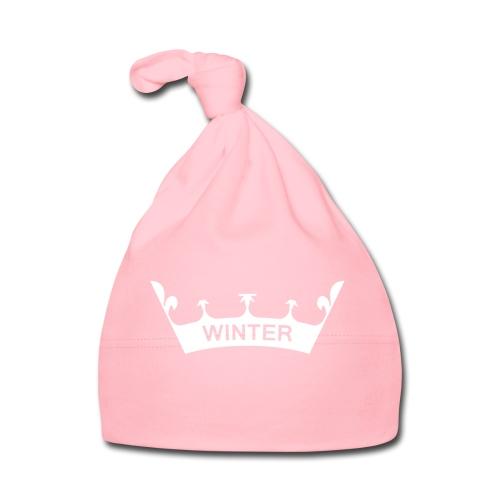Krone Winter - Baby Mütze