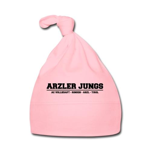 Arzler Jungs Schriftzug in Schwarz - Baby Mütze